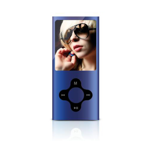 Sweex MP4 Player 8GB (Blue) + Sennheiser MX 300