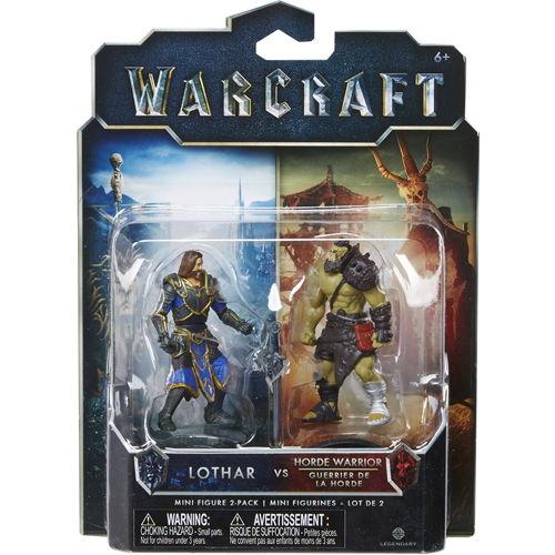 Warcraft Movie: Mini Lothar & Horde Warrior