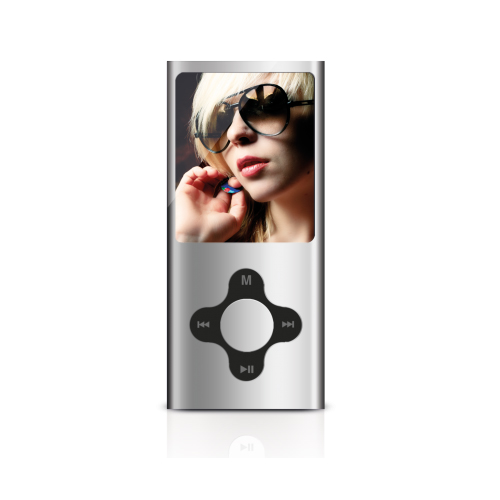Sweex MP4 Player 4GB (Grey) + Sennheiser MX 300