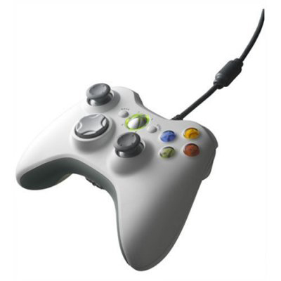 Microsoft Xbox 360 Controller for PC/Xbox 360 White