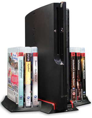 4gamers PS3 Vertical Stand and Storage