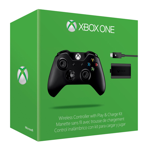 Microsoft Xbox One Wireless Controller + Charging Kit
