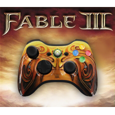 Microsoft Xbox 360 Wireless Controller for Xbox 360 (Fable 3 Edition)