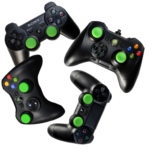 Razer Analog Stick Rubber Grip Caps for Gamepad Controllers