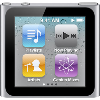 Apple iPod Nano 8GB (Silver)