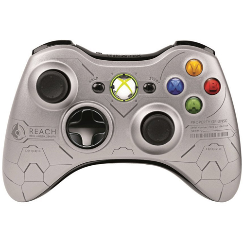 Microsoft Xbox 360 Wireless Controller for Xbox 360 (Halo Reach Edition)