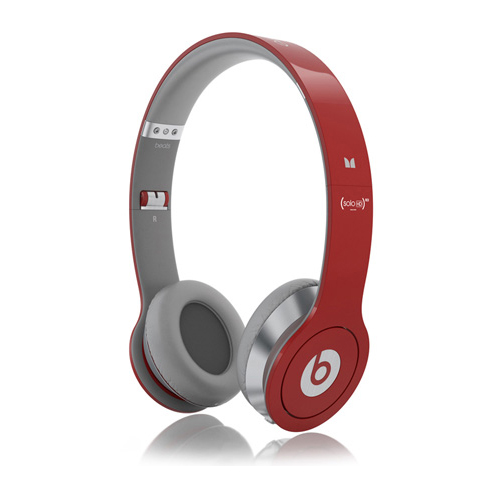 Monster Beats Solo HD Red (With Control Talk)