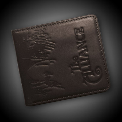 Jinx WoW Alliance Crest Leather Wallet