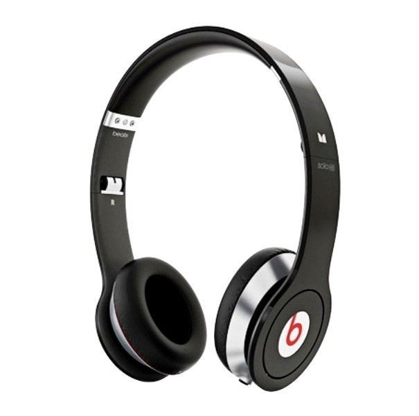 Monster Beats Solo HD Black (With Control Talk)