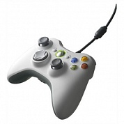 Геймпад Microsoft Xbox 360 Controller for PC/Xbox White (Копия)