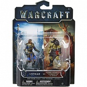 Фигурки Warcraft Movie: Mini Lothar & Horde Warrior