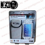 Black Horns PSP Slim & Lite Ultra Soft Kit