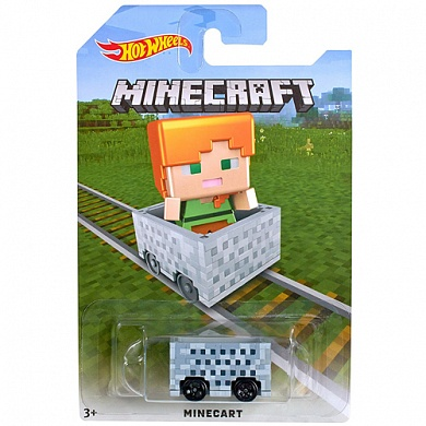 Игрушка Hot Wheels Minecraft Alex Vehicle