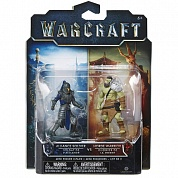Фигурки Warcraft Mini Horde Warrior & Alliance Soldier