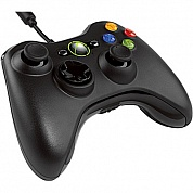 Геймпад Microsoft Xbox 360 Controller for PC/Xbox Black (Копия)