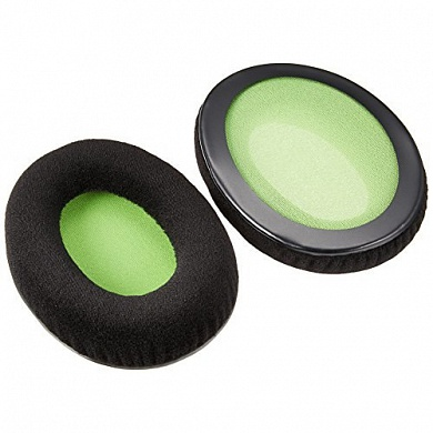 Амбушюры HyperX Cloud Ear Cushions (Black/Green)